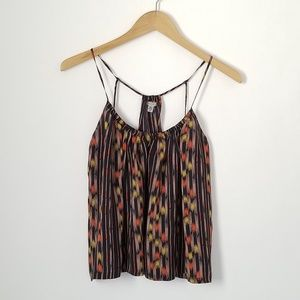 EUC Ecote Silk T-back Tank {urban outfitters}